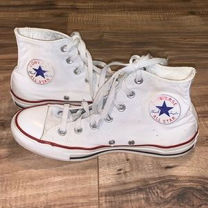 Converse High Tops Size 6 M 8 W